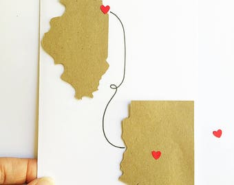 Long Distance Birthday Card. Far Apart But Close At Heart. Far Away Friend. Long Distance Relationship. Moving Into Together. Deployment