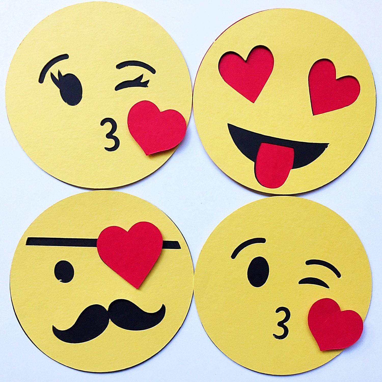 Emoji Valentine Classroom Valentine For Kid Kids Valentine