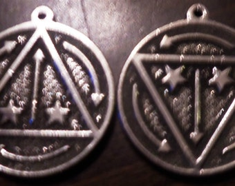 Vril Power Energy Pendant Occult Magick rare
