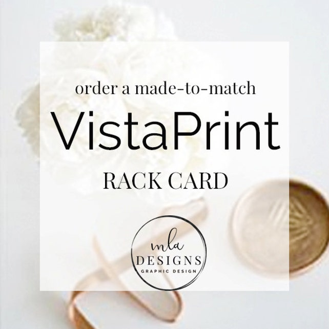 Made To Match Rack Card Graphic For All Sets In My Store