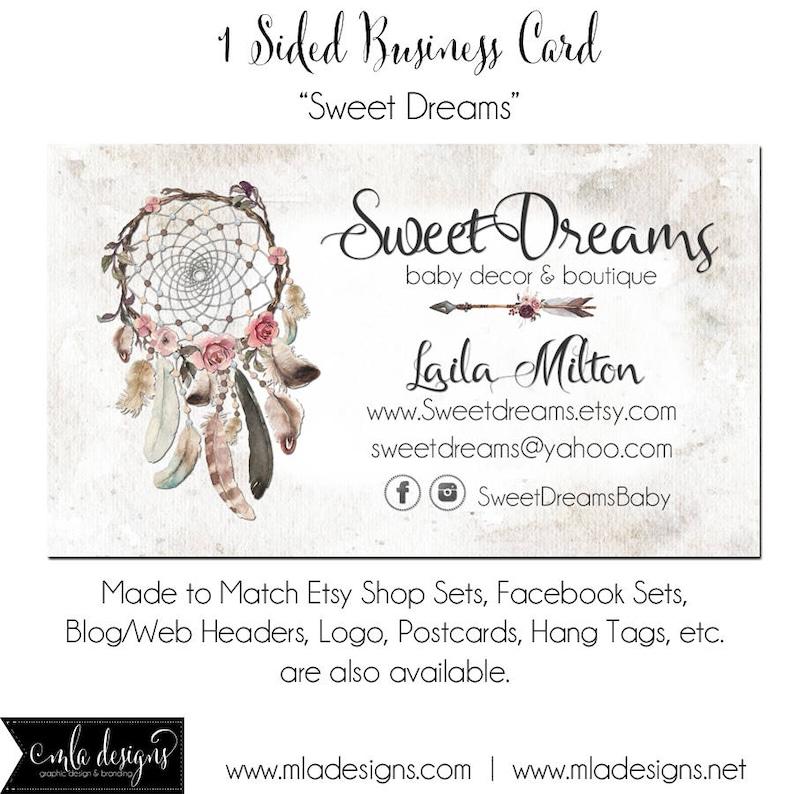 Cartes De Visite Dreamcatcher Sweet Dreams