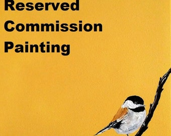 Reserved Commission Painting for Alessandra