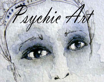 Psychic art. A guardian spirit, a future lover, a past life? an exciting discovery for you!