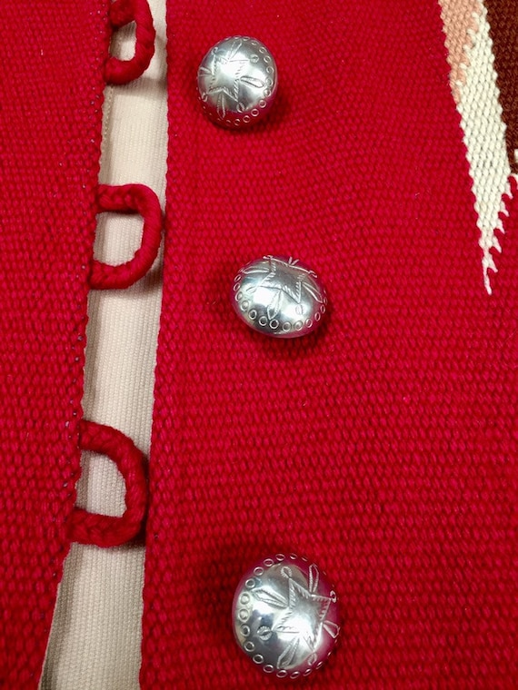 Ganscraft 40's Chimayo Jacket Vintage Woven Wool … - image 4