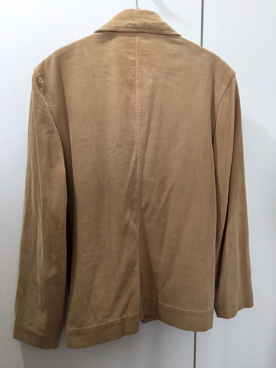 Ganscraft 40's Chimayo Jacket Vintage Woven Wool … - image 8