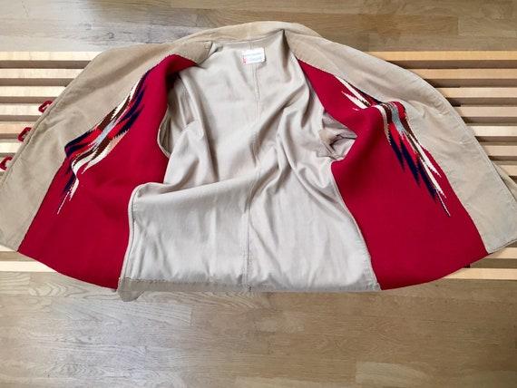 Ganscraft 40's Chimayo Jacket Vintage Woven Wool … - image 7