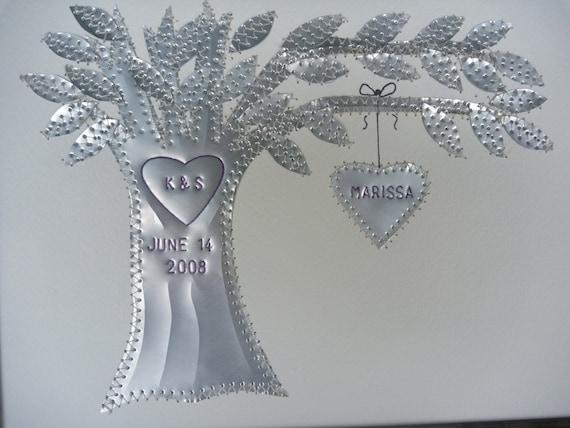 10 Year Anniversary Wedding Gift Aluminum Ten Year Gift Etsy