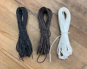Waxed Thread (20 feet / 6 m) - Nylon Sailmaker's Thread - For Whip-tying Bicycle Handlebars and Craft