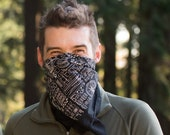 Bicycle Print Bandana - Bandana Face Mask - Neckerchief