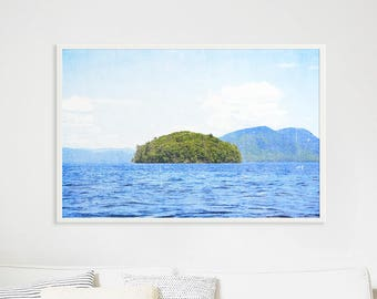 """Landscape Photography // Nature Photography // Lake Photography for Modern Home // Wander & Adventure Print - """"Greetings From Nowhere 3"""""""