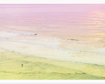 Surf Photography Beach Photography // California Dreamin' San Francisco // Beach Print // Water Photography // Ocean - San Francisco Surfer
