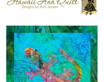 Surf the wave at pipeline hawaii ana batik applique ocean etsy