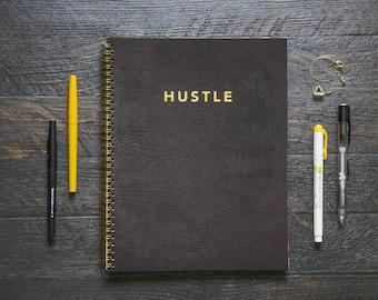 Large Notebook (Gridded or Lined/170 Pages) | Hustle Agenda