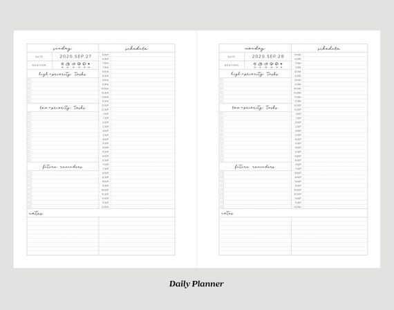 image relating to Large Daily Planner titled High Everyday Planner / Tremendous THICK / Zodiac Most cancers Planner with Behavior Tracker