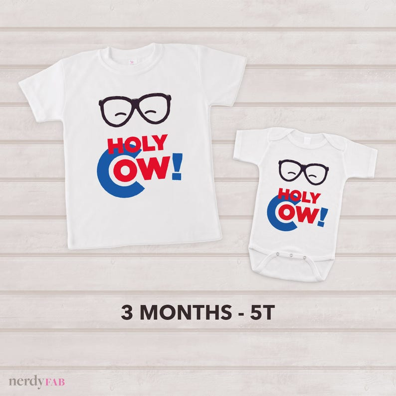 b611ebbe8 Holy Cow Baby One Piece Short Sleeve Baby 2T 3T 4T Toddler | Etsy
