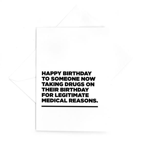 "Birthday Card By Alicia Black 6""x6"" Very Cute discount on multiple purchase ="