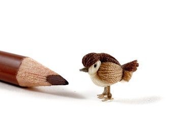 DORIMU miniature bird - SPARROW 02
