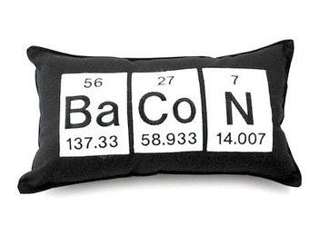 Items similar to periodic table geeky nap pillow chemistry related to this item urtaz Choice Image