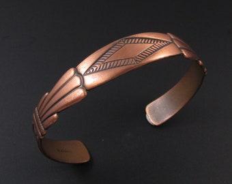 Copper Bracelet, Southwestern Bracelet, Copper Cuff Bracelet, Boho Bracelet