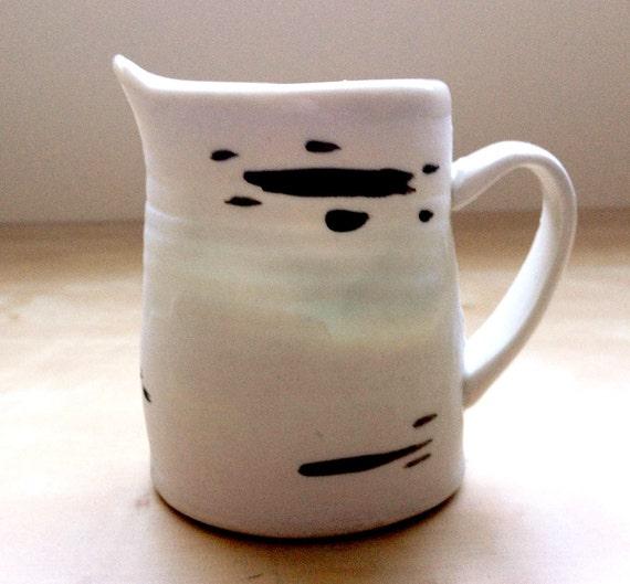 Porcelain Birch Creamer