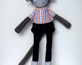 Harvey the Hipster Monkey