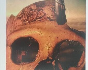 skull swoon digital print* 8.5x11in.