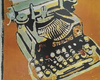 Sterling Typewriter *print 8 1/2x11in