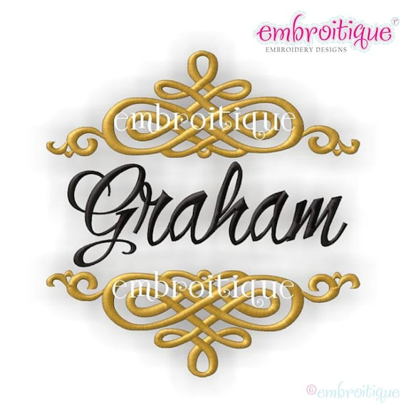 Font Frames Set 8 of our Best Selling Machine Embroidery   Etsy