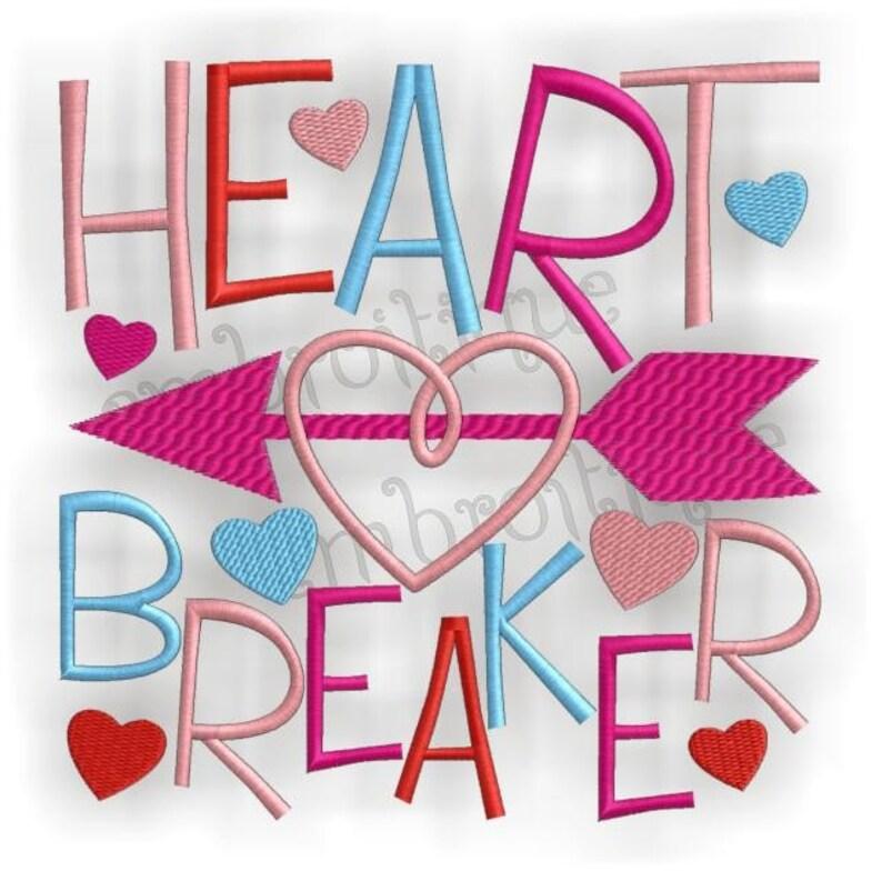 Heart Breaker Valentine's Day Instant Download Digital