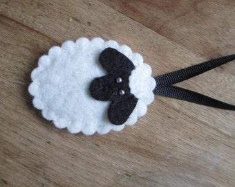 Sheep Scissor Fob/Tree Ornament