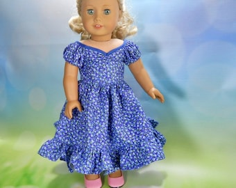 18 inch doll clothes, clothes for 18 inch doll, fits dolls like American Girl® Doll Clothes, 18 inch Doll  Country Dress, 03-2873