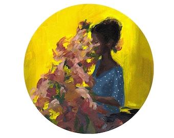 Overgrown . CIRCLE . giclee art print