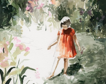 Into the Woods .   giclee art print