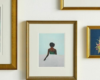The Wait . giclee art print available in all sizes