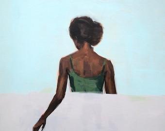 The Wait .  giclee art print