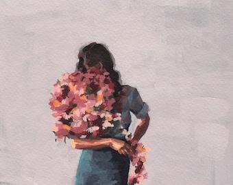 Flower Child .  giclee art print