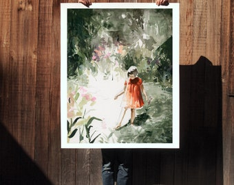 Into The Woods . extra large wall art . giclee print