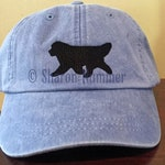 Original Newfoundland Dog Embroidered Baseball Hat Cap by S Nummer