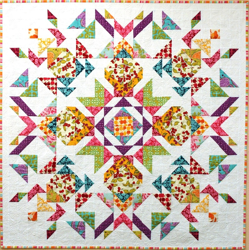 Parterre Quilt from Farmer's Market fabric image 0