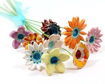 Holiday decor Colorful flowers of your choice Holiday presents