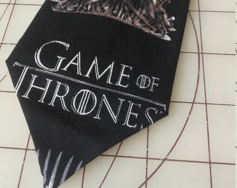Game of Thrones Neckties in bow tie, skinny tie, and standard tie styles, kids or adult sizes