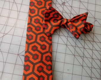 Stanley Kubrick's The Shining Neckties in adult bow tie and standard tie styles