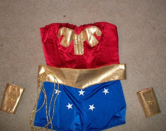 Classic Wonder Woman Cosplay Costume