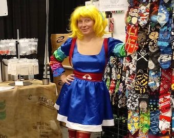 Rainbow Brite Cosplay Costume in Adult Size