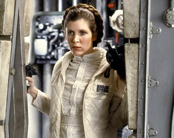 Star Wars Princess Leia Hoth Costume Cosplay
