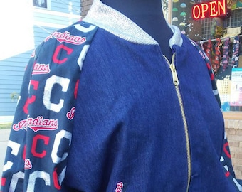 Cleveland Indians Unisex Bomber Jacket