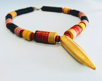 African Vulcanite Necklace