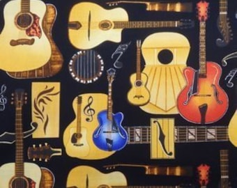 Guitars Neckties in bow tie, skinny tie, and standard tie styles, kids or adult sizes