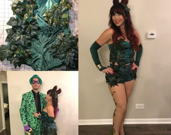 Poison Ivy Cosplay Costume from Batman and DC Comic Universe