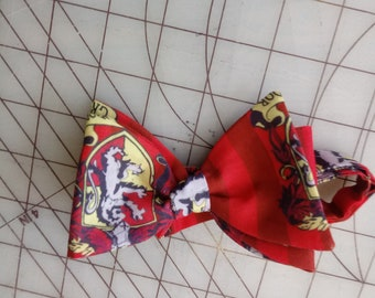 Harry Potter Gryffindor Neckties in bow tie and pocket squares